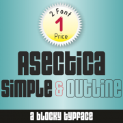Asectica Font (2 in 1)