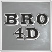 Bro 4D Font