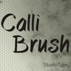 Callibrush Font