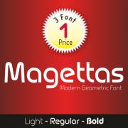 Magettas Font (3 in 1)