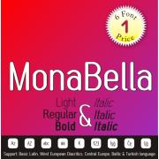 Mona Bella Font (6 in 1)