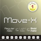 Move-X Font (6 in 1)