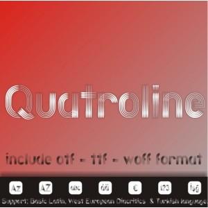 QUATROLINE FONT