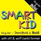 SMART KID Font (3 in 1)
