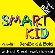 SMART KID Font (3 in 1)