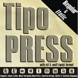 Tipo Press Font (2 in 1)