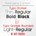 Typo Grotesk & Typo Grotesk Rounded Font