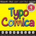 TYPO COMICA Font (5 in 1)