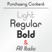 Typo Ring Font (6 in 1)
