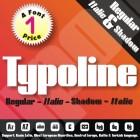 Typoline Font (4 in 1)