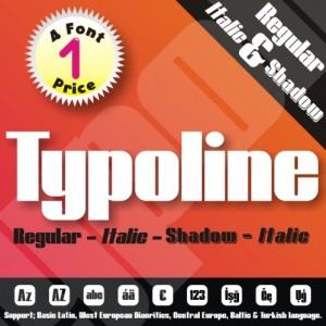 Typoline & Typoline Expanded Font (6 in 1)