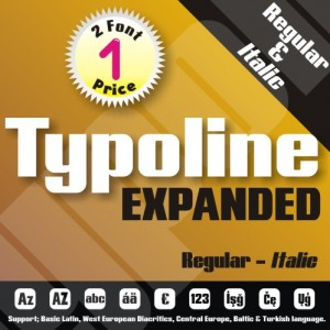 Typoline Expanded Font (2 in 1)
