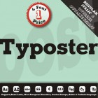 Typoster Font (4 in 1)