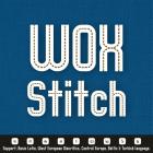 WOX-Stitch Font