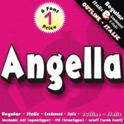 ANGELLA Font (6 in 1)