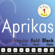 Aprikas Font (8 in 1)