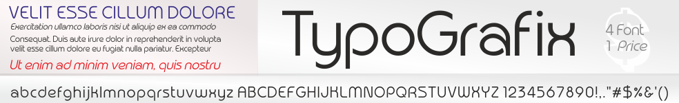 TypoGrafix Font