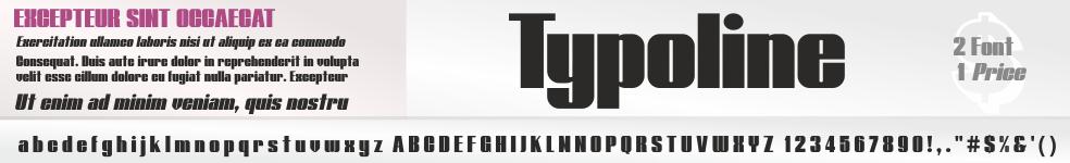 Typoline Font