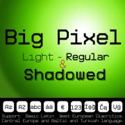 Big Pixel Font (3 in 1)