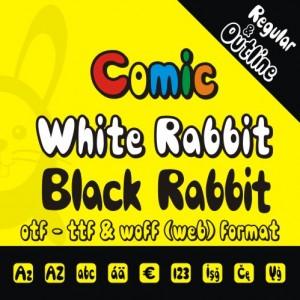 Comic Rabbit Font Family