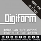 DIGIFORM Font (4 in 1)