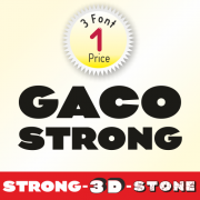 Gaco Font (3 in 1)