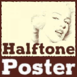 Halftone Poster