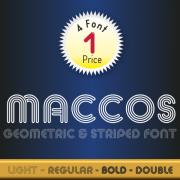 Maccos Font (4 in 1)