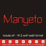 MANYETO Font