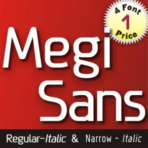 MEGI SANS FONT