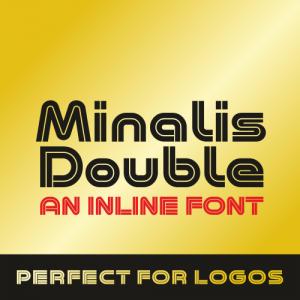 Minalis Double Font
