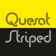 Quesat Striped Font
