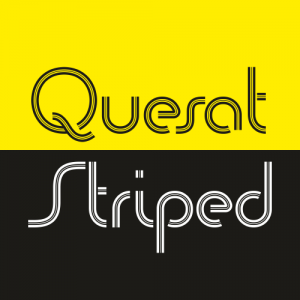 Quesat Striped Font