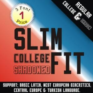 SlimFit Font (3 in 1)
