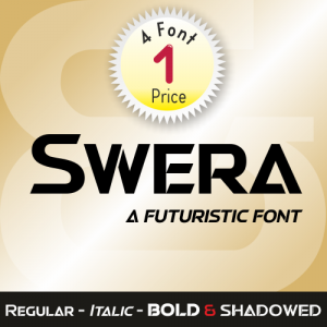 Swera Font (4 in 1)