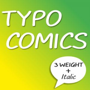Typo Comics Font (6 in 1)