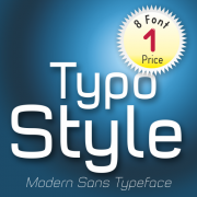 Typo Style Font (8 in 1)
