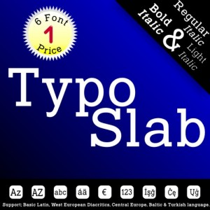 TYPO SLAB (6 in 1)
