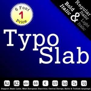 TYPO SLAB (6 in 1)