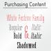 White Festive Font (5 in 1)