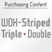WOX-Striped Font (2 in 1)